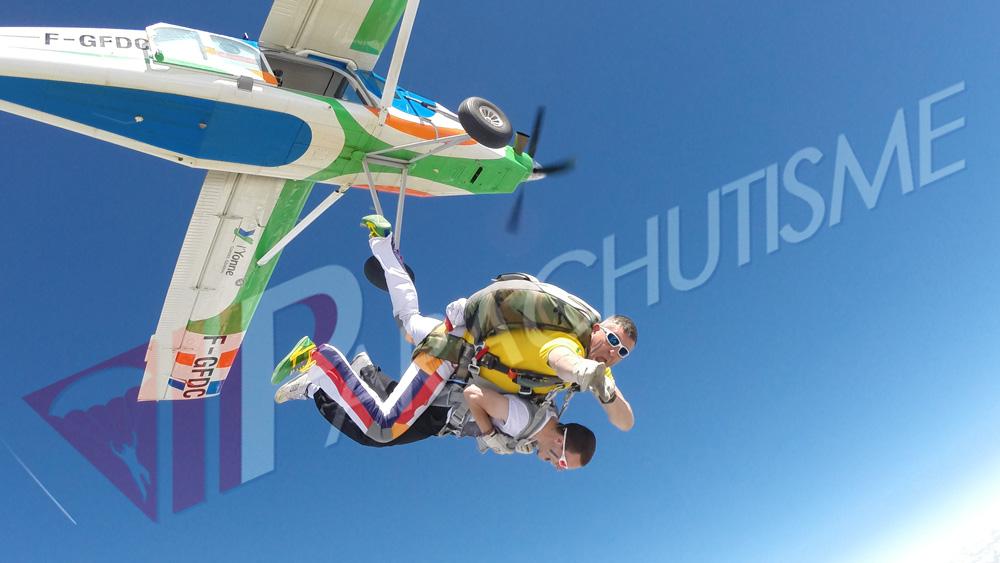 parachutisme cheu