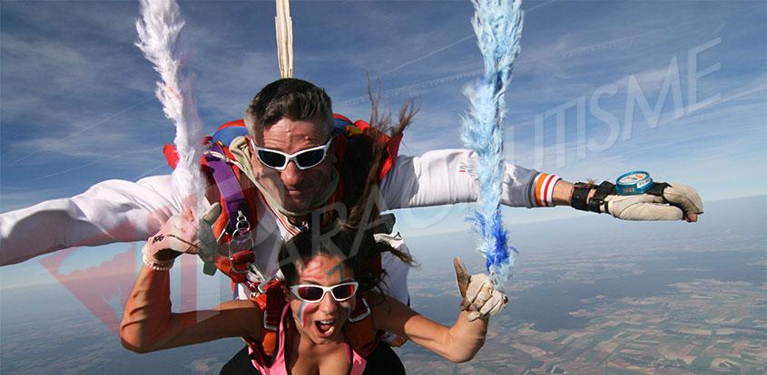 saut en parachute 91